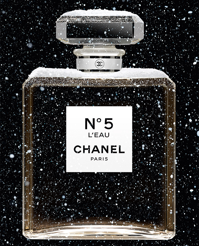 Chanel Fragrance Holiday Campaign 2019