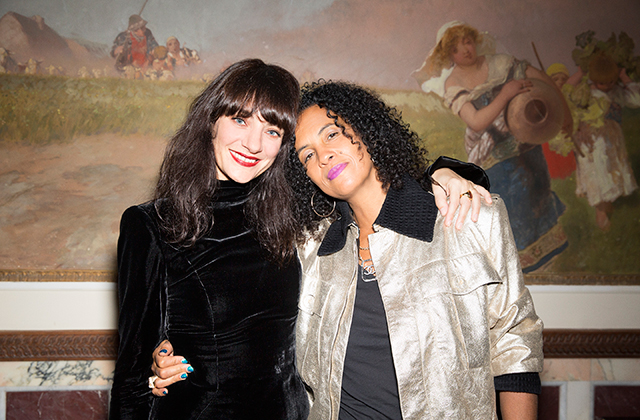 Lucia Pica and Neneh Cherry