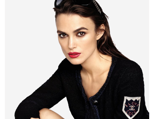keira knightley fronts chanel 39 s new rouge coco lipstick campaign buro 24 7. Black Bedroom Furniture Sets. Home Design Ideas