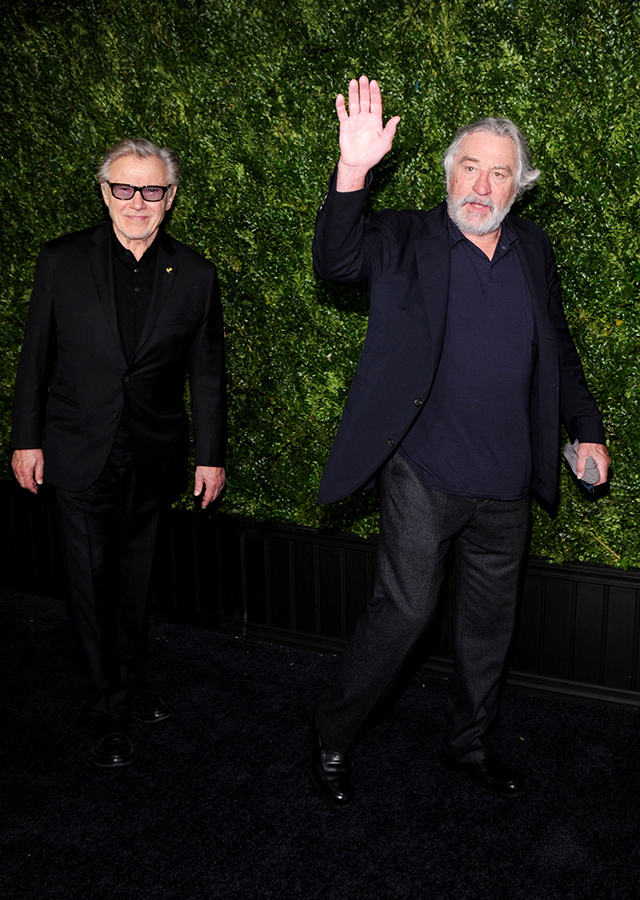 Harvey Keitel and Robert De Niro