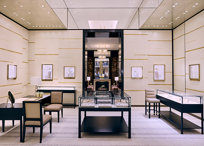Chanel just reopened its Watches and Fine Jewellery boutique in The Dubai Mall (фото 2)