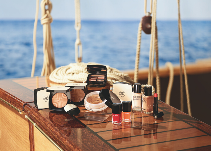 Chanel's Les Beiges Summer of Glow collection sets sail this season (фото 1)