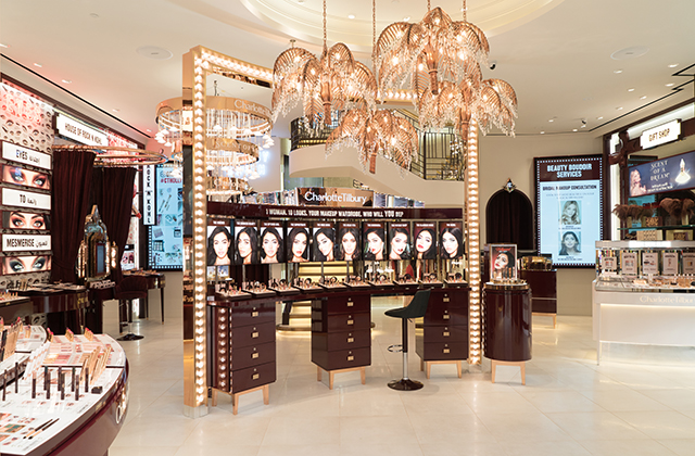 Now open: Charlotte Tilbury launches world's largest store in Kuwait (фото 1)
