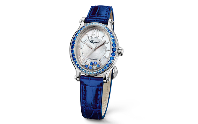 One of Chopard's most iconic models is transformed into four new elegant variations (фото 2)