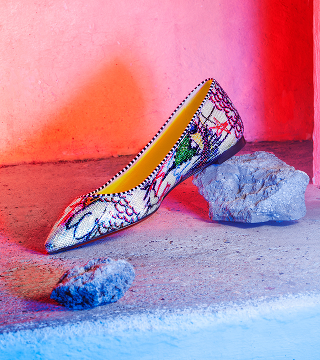 Christian Louboutin launches Loubitag Paillettes capsule collection