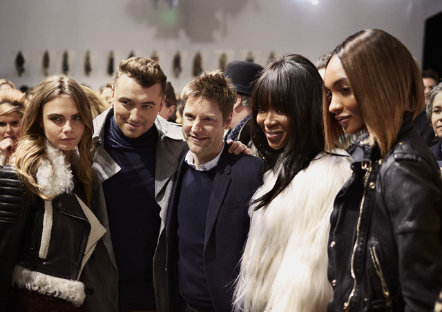 London Fashion Week: The guests at the Burberry Prorsum show (фото 2)