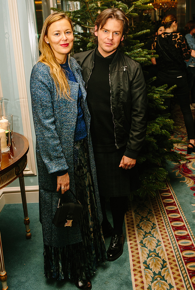 Mytheresa.com x Christopher Kane festive event