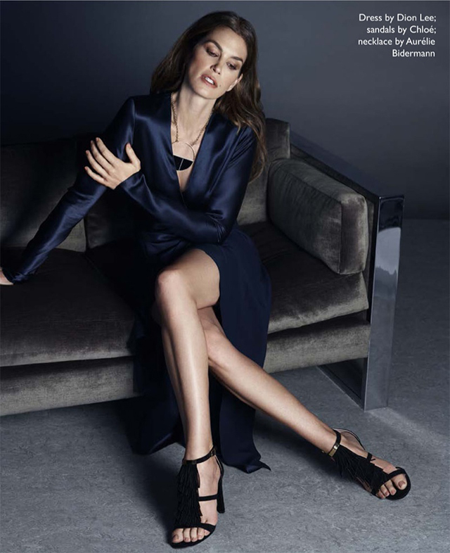 Cindy Crawford is 'still super' for Net-a-Porter's The Edit