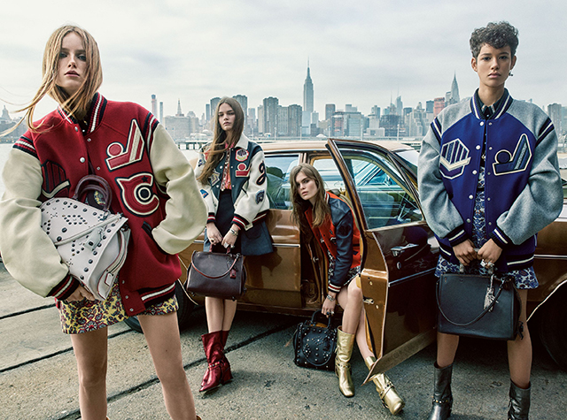Coach's Fall/Winter '16 campaign