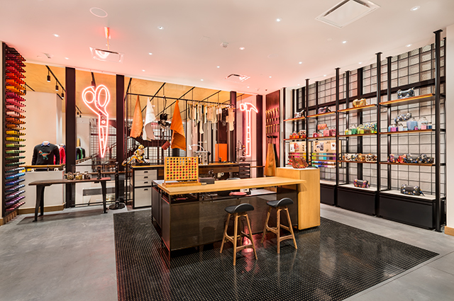 Coach New York Fift Avenue boutique opening