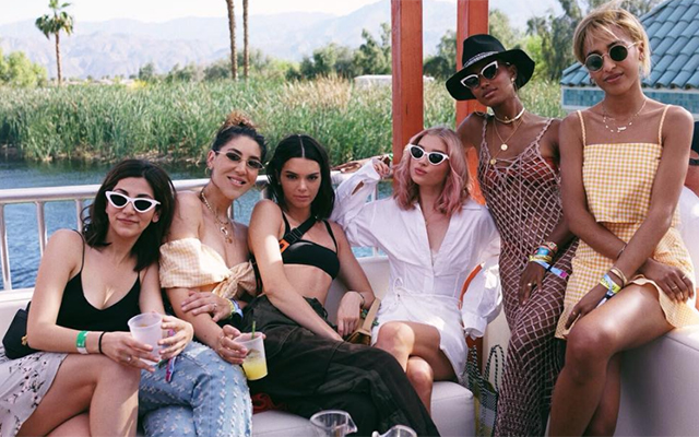 The best celebrity Instagrams from Coachella – Weekend One (фото 5)