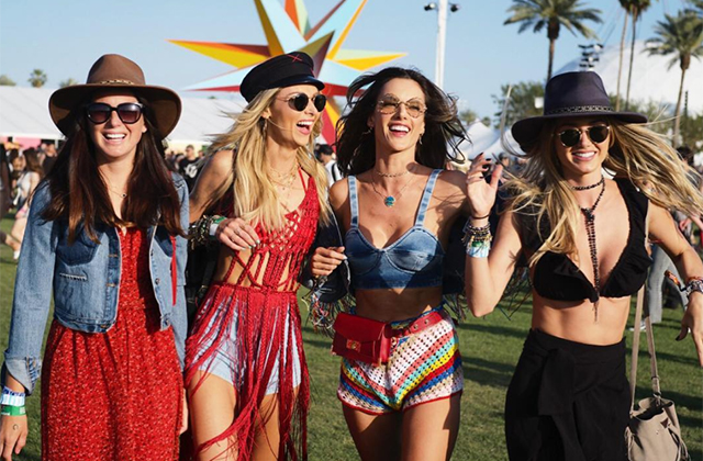 The best celebrity Instagrams from Coachella – Weekend One (фото 3)