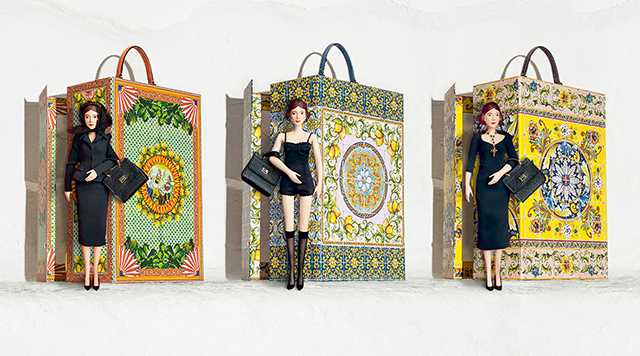 Dolce & Gabbana unveils porcelain doll trio for Spring/Summer 2015