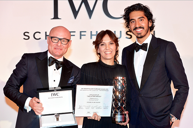 Emirati Layla Kaylif wins IWC Filmmaker Award at DIFF (фото 1)