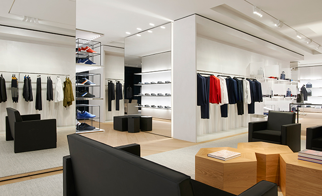 New Dior boutique in London