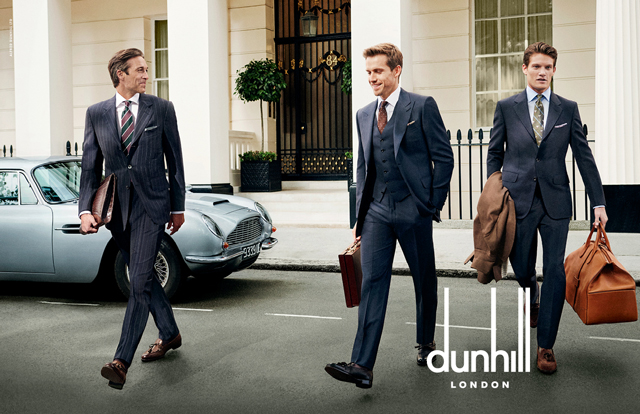 London love: Dunhill Spring/Summer '16 campaign
