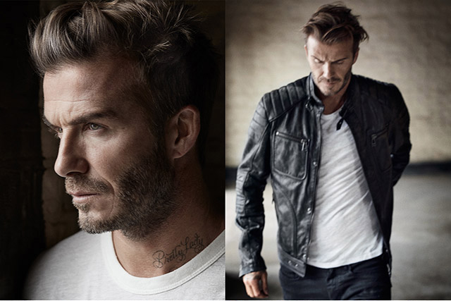 David Beckham gets up close and personal with Mr. Porter (фото 1)