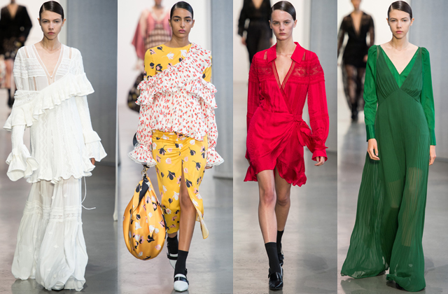 New York Fashion Week S/S'19: Day four highlights (фото 1)
