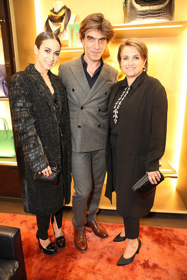 Fendi celebrates the launch of new Men's store in Paris