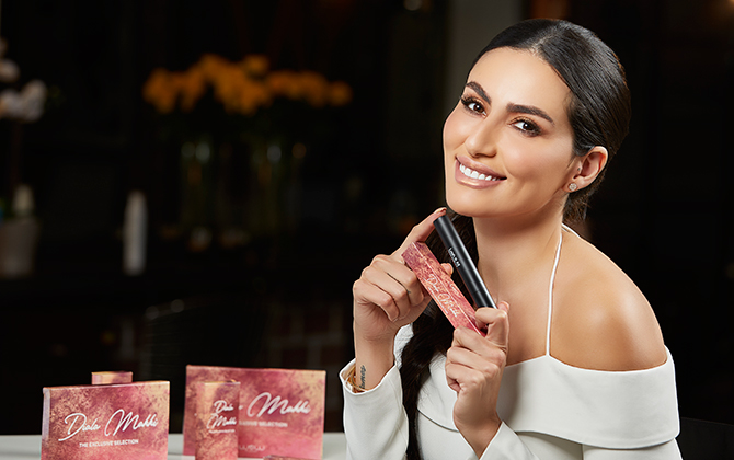 Regional personality Diala Makki collaborates with Wow by Wojooh on beauty collection (фото 1)