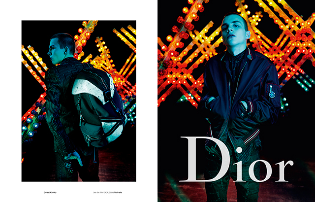Just in: Dior Homme's Spring/Summer '17 campaign (фото 2)