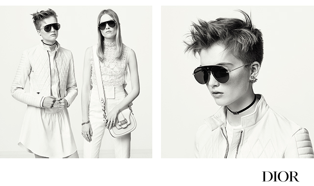 Must-watch: Dior's new eyewear campaign (фото 1)
