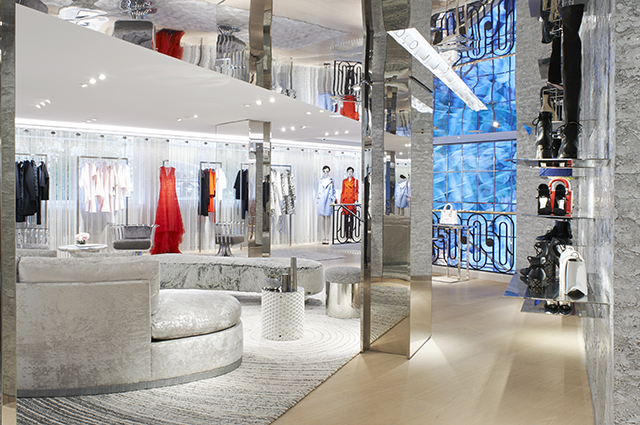 Dior boutique in Cannes