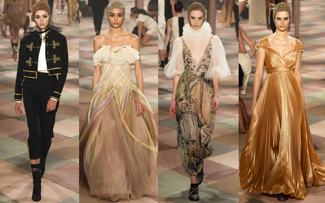 Paris Haute Couture Fashion Week S/S'19: Day one highlights (фото 1)