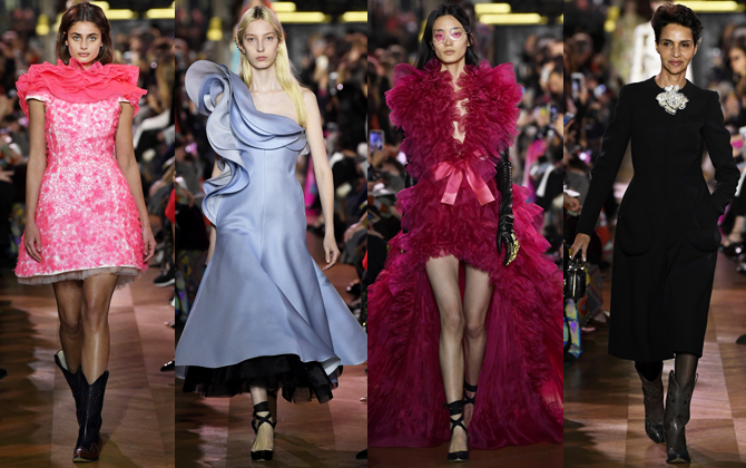 Paris Haute Couture Fashion Week S/S'19: Day one highlights (фото 2)