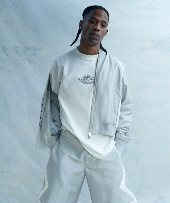 Watch now: Travis Scott fronts the Air Dior capsule collection (фото 1)