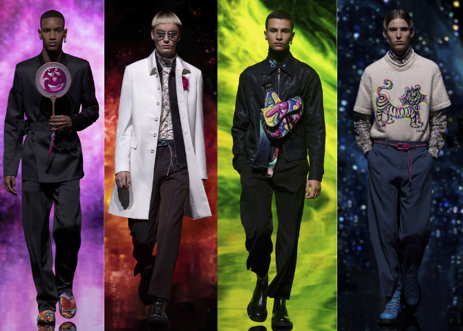 Dior's Kim Jones and Kenny Scharf team up for Men's Fall 2021 collection (фото 2)