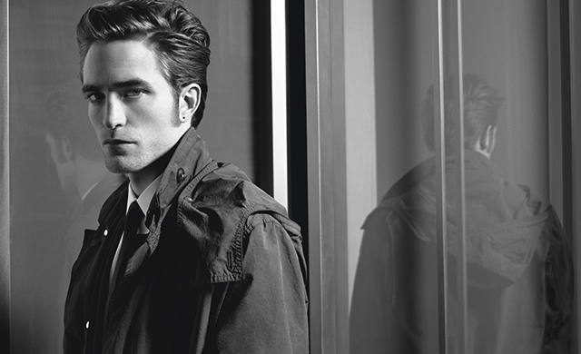 Dior Homme's new face, Robert Pattinson