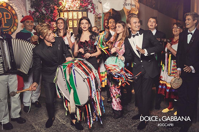 Dolce & Gabbana Spring/Summer ' 17 campaign