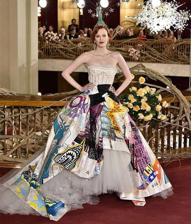 Dolce & Gabbana host world's most extravagant runway presentation in New York (фото 3)
