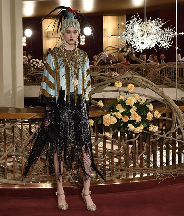 Dolce & Gabbana host world's most extravagant runway presentation in New York (фото 4)