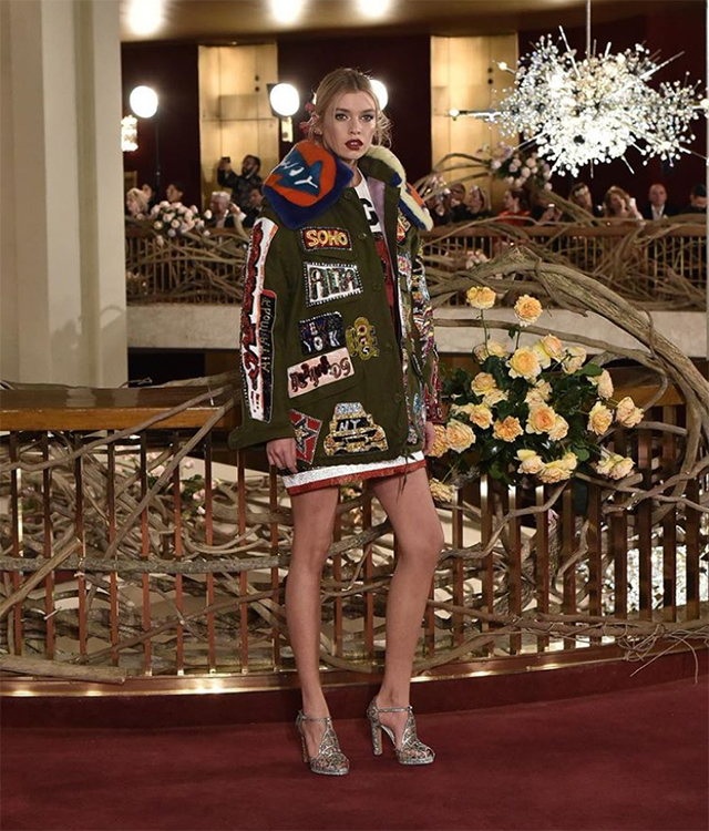 Dolce & Gabbana host world's most extravagant runway presentation in New York (фото 8)