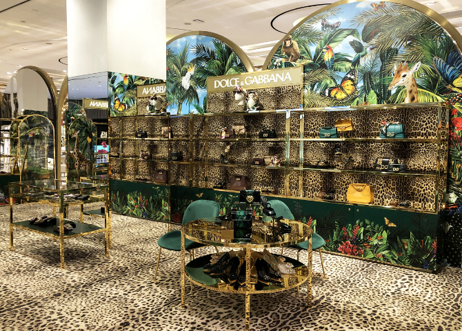 Experience a Sicilian jungle at the heart of Dubai, courtesy of Dolce & Gabbana (фото 1)