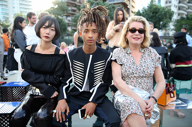 Doona Bae, Jaden Smith and Catherine Deneuve