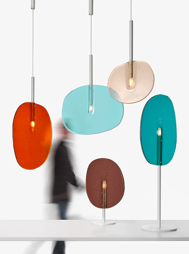 Lasvit lollipop lighting by Boris Klimek