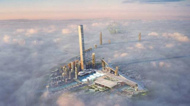 Dubai tower news