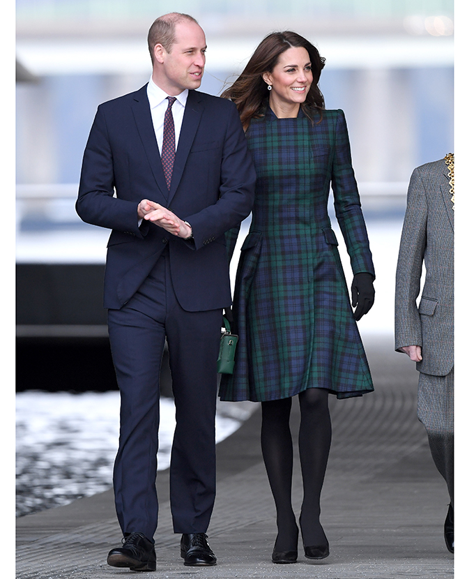 The Duchess of Cambridge opened the V&A Dundee in an outfit we're familiar with (фото 2)