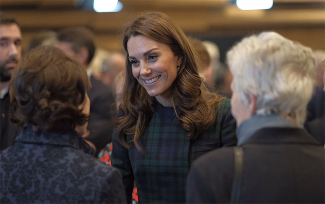 The Duchess of Cambridge opened the V&A Dundee in an outfit we're familiar with (фото 1)