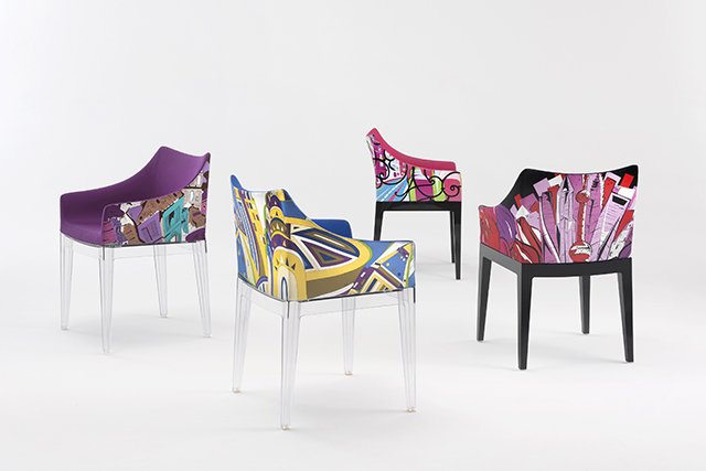 emilio pucci and kartell unite for new milan design week. Black Bedroom Furniture Sets. Home Design Ideas