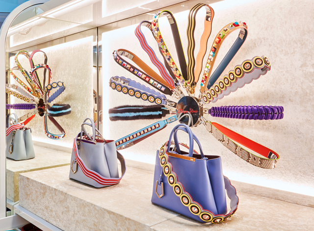 Fendi Pop-Up, The Dubai Mall