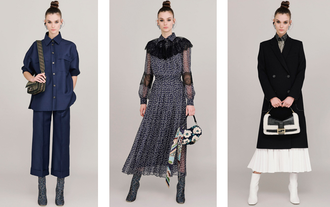 Fendi takes an elegant approach to autumnal dressing (фото 1)