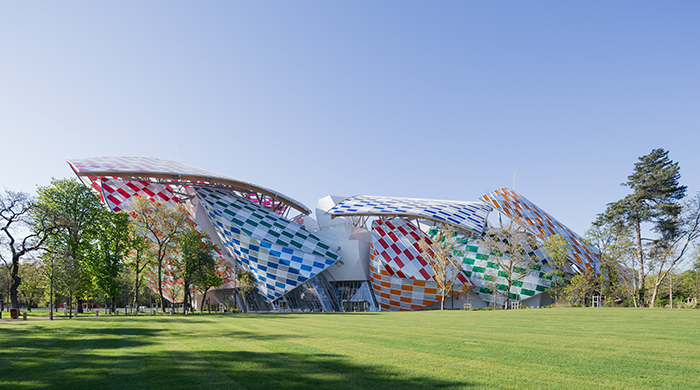 Fondation Louis Vuitton Daniel Buren