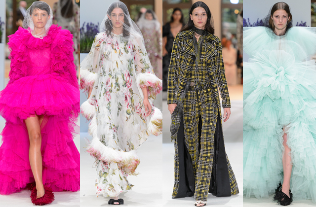 Paris Haute Couture Fashion Week F/W'18: Day two highlights (фото 6)