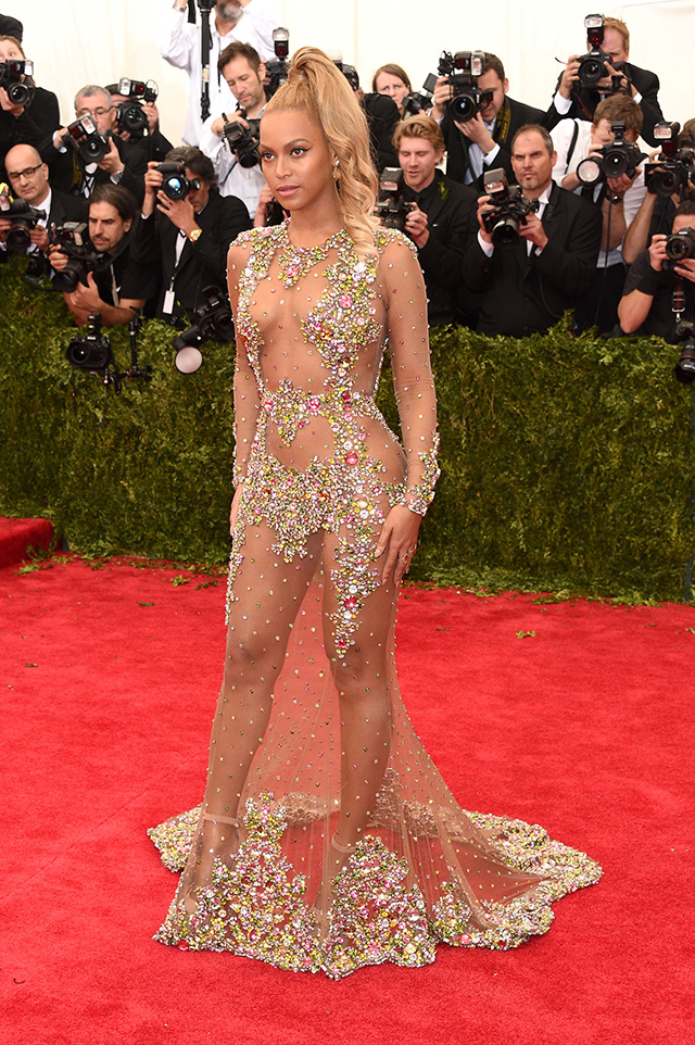 Kim Kardashian and Beyoncé's barely-there gowns upset iconic designer