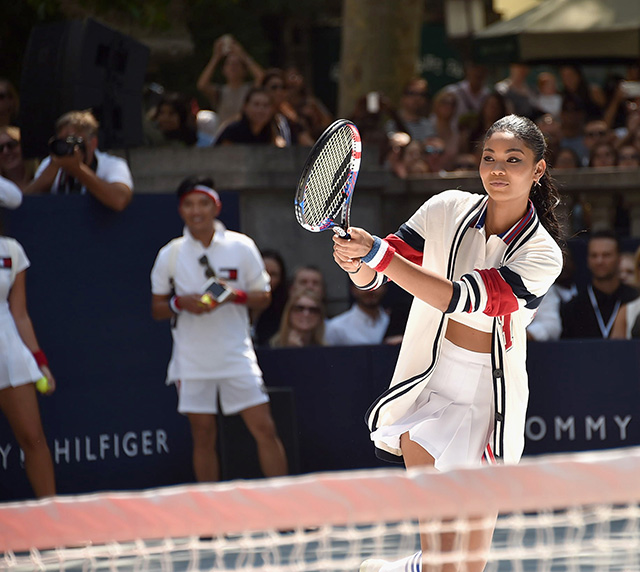 Hilfiger tennis event