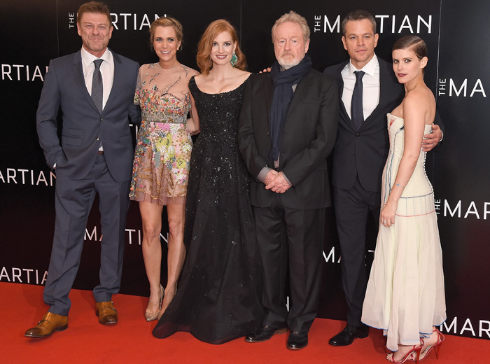 Exclusive interview: Ridley Scott, Matt Damon and Jessica Chastain talk The Martian (фото 1)